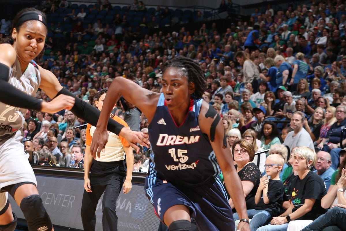 Tiffany Hayes, WNBA, suspended, Atlanta Dream, playoffs