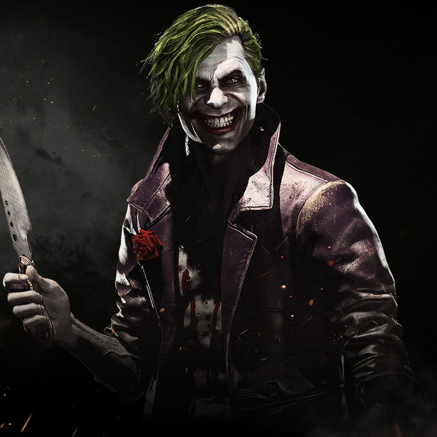 the joker in injustice 2 looks very different polygon