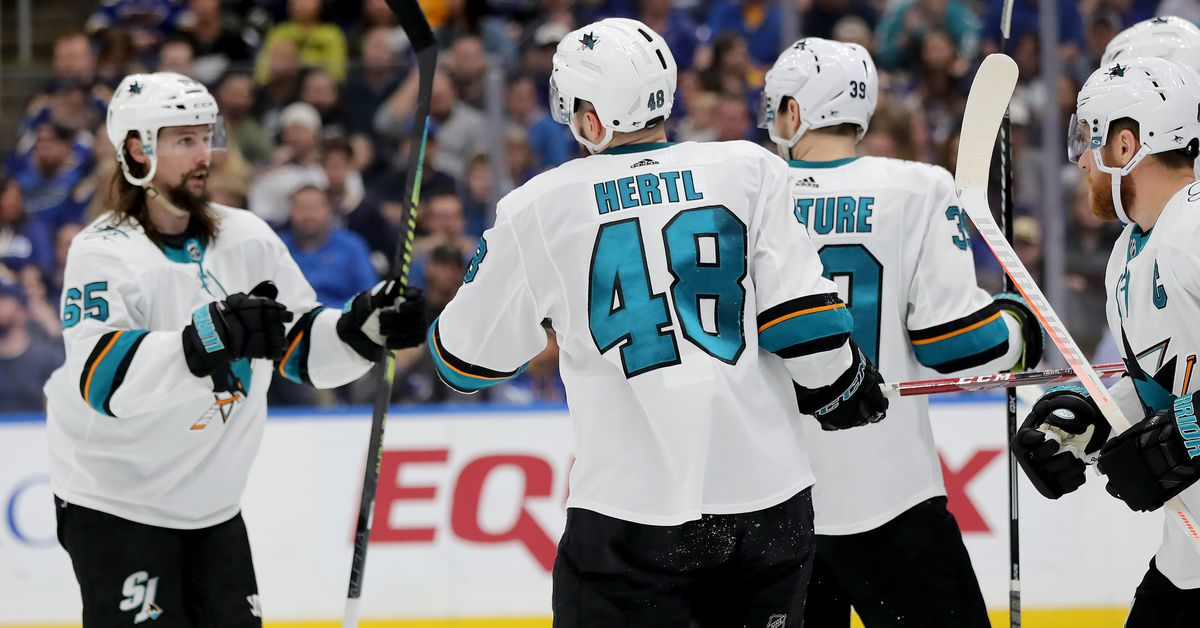 St. Louis Blues at San Jose Sharks, Game 5: Lines, gamethread, and where to watch - Fear the Fin