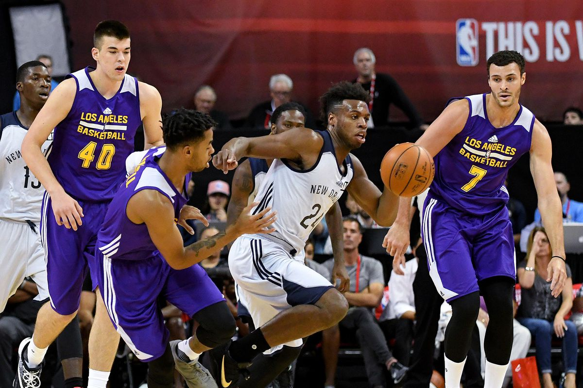 Celtics-Lakers set to highlight Las Vegas summer league slate