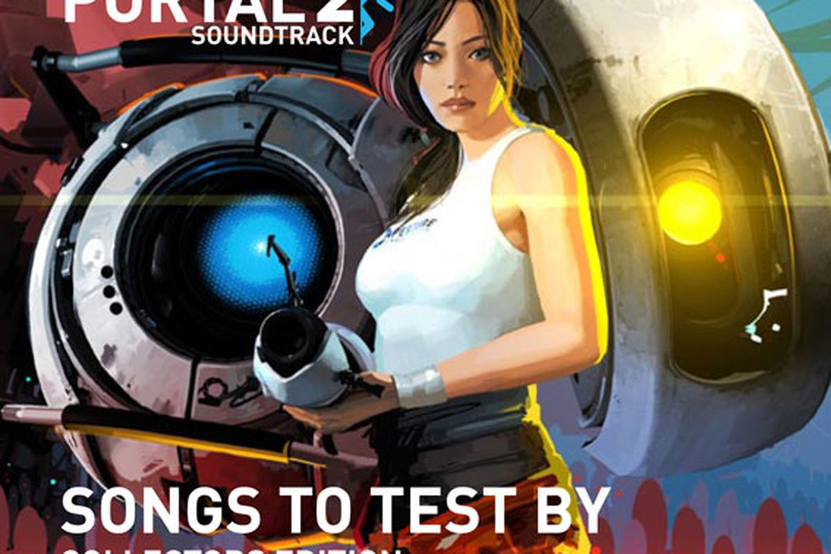 Four-disc 'Portal 2: Songs To Test By (Collector's Edition)' set