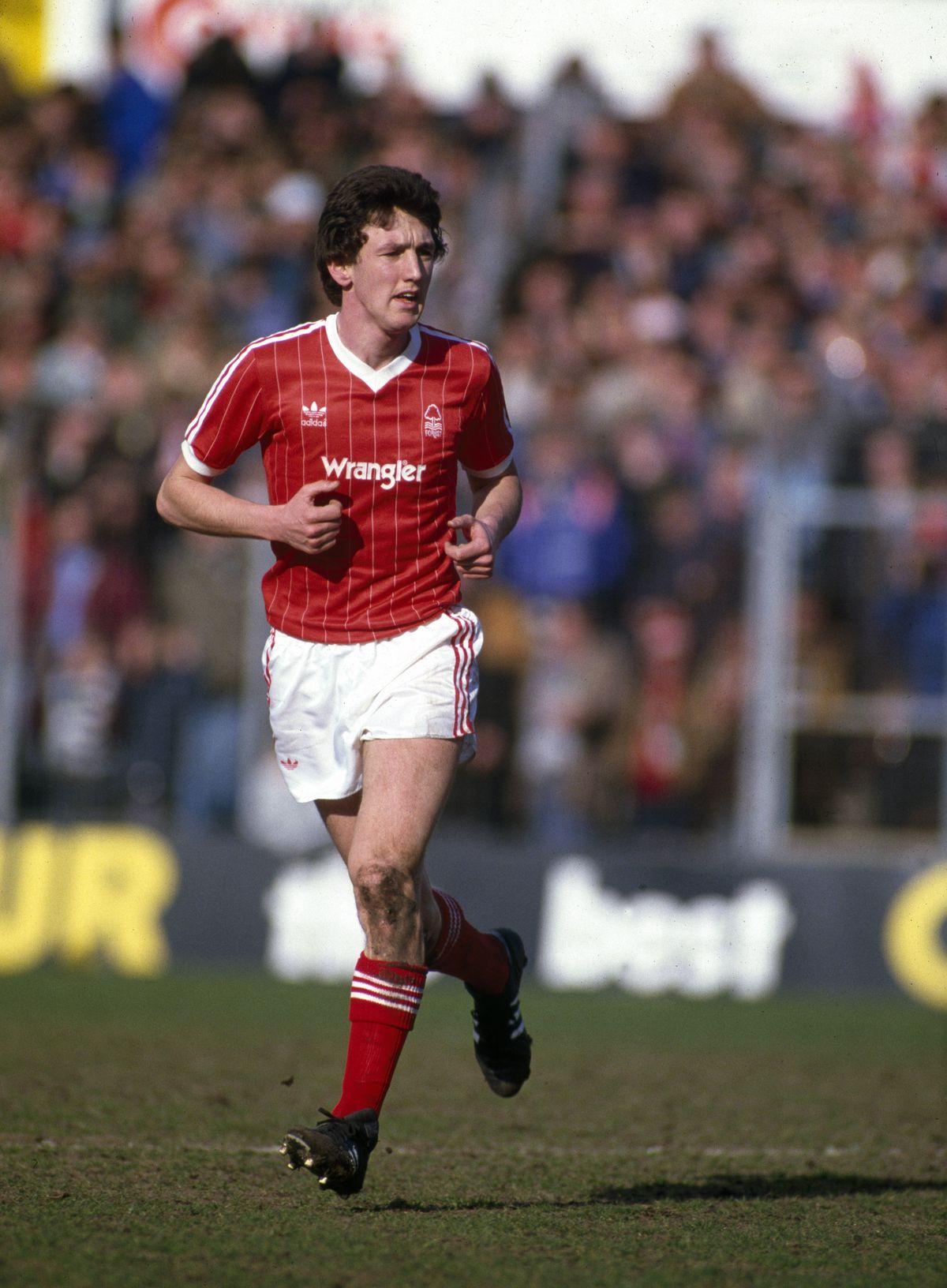 Peter Davenport - Nottingham Forest FC 1984