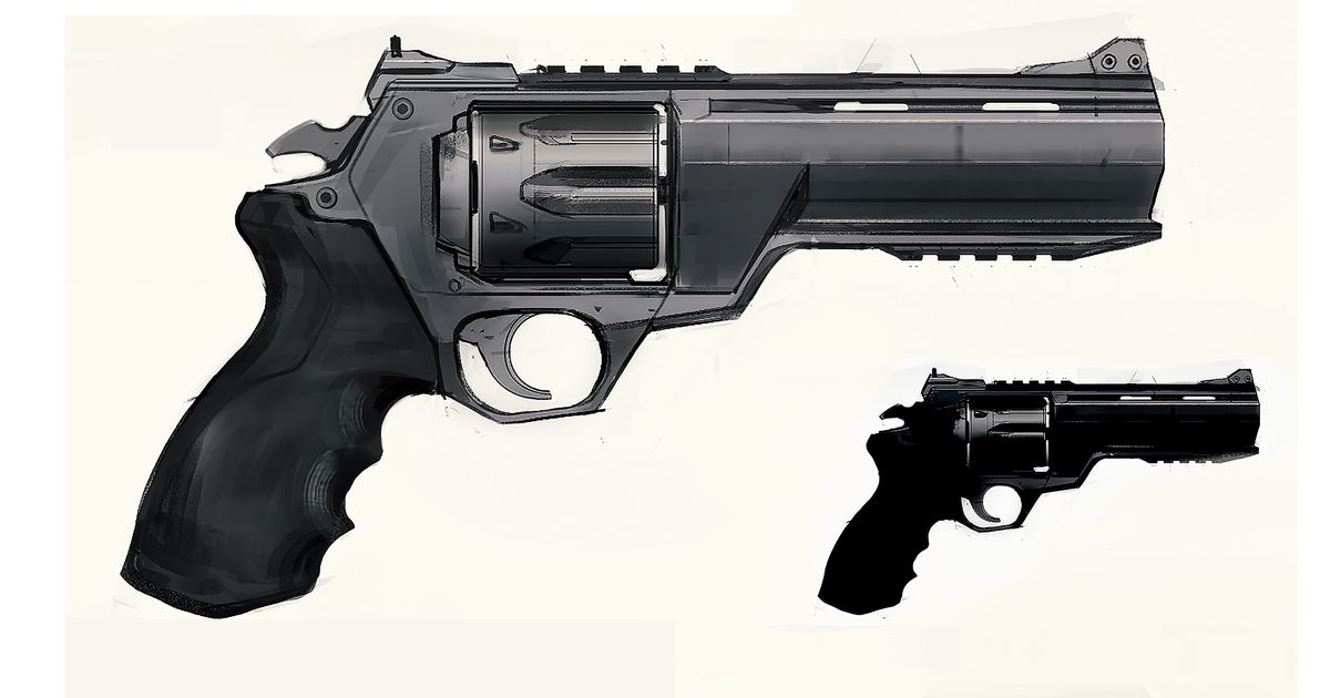 Un revólver de Valorant
