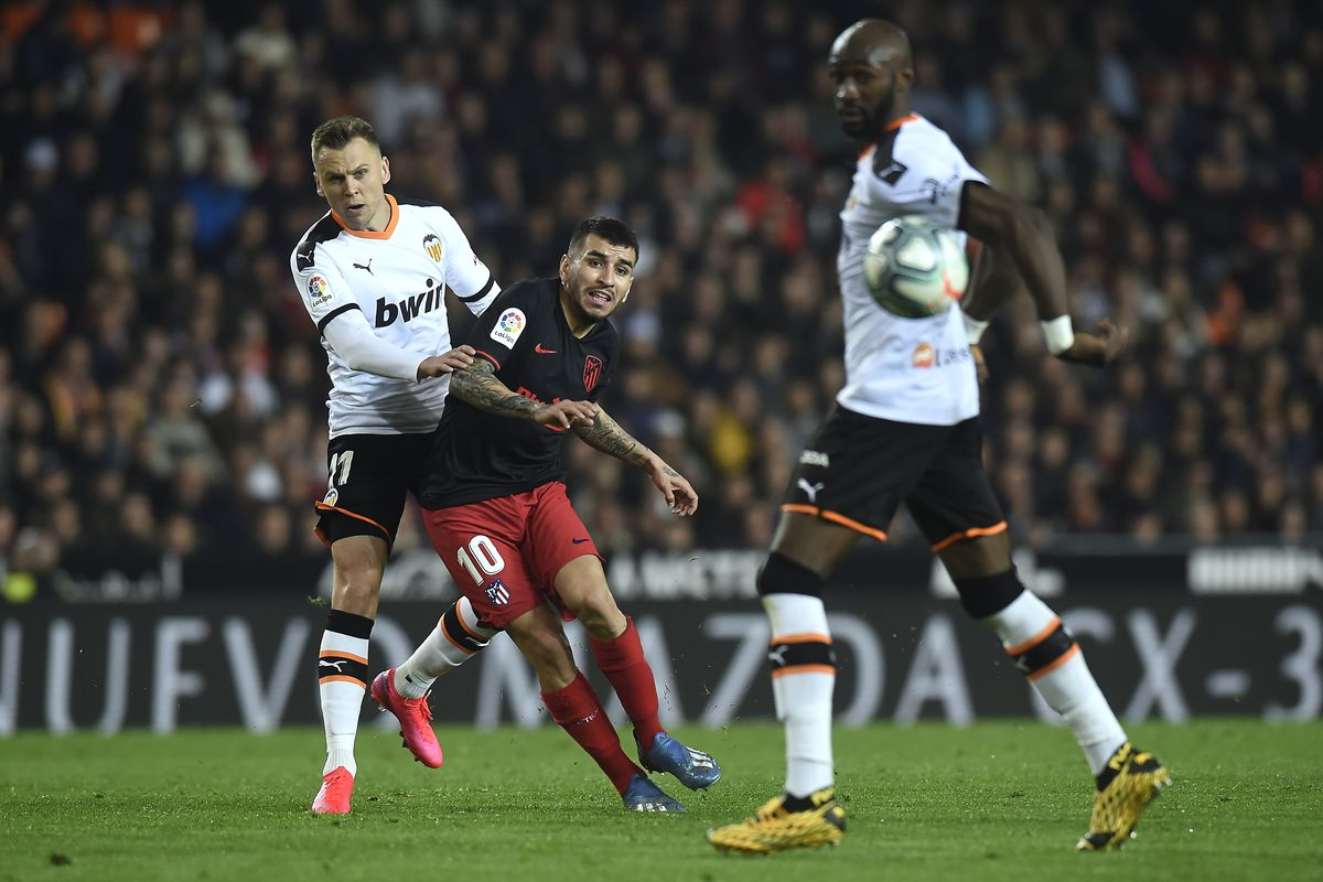 ESP: Valencia CF v Atletico Madrid - La Liga