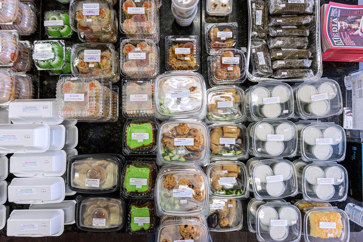 Food for sale at Medan Kitchen.
