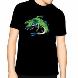 Leviathan on black