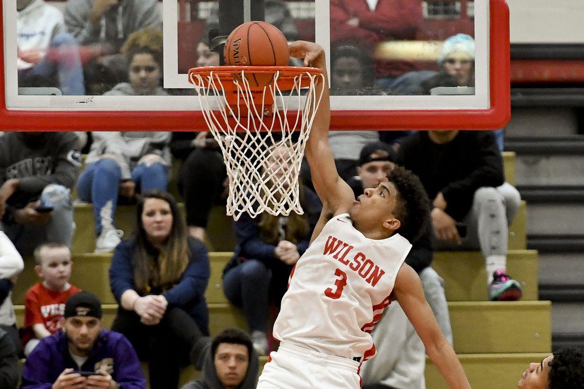 Wilson High School Basketball Player Stevie Mitchell During The 2019 Boys Basketball Season