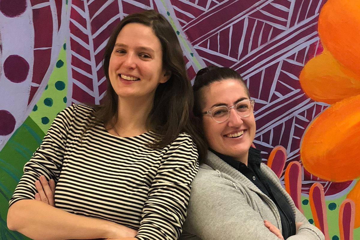 Eleanor Vierling and Kaitlin Ruggiero are competing in the first-ever Great American Teach-Off.