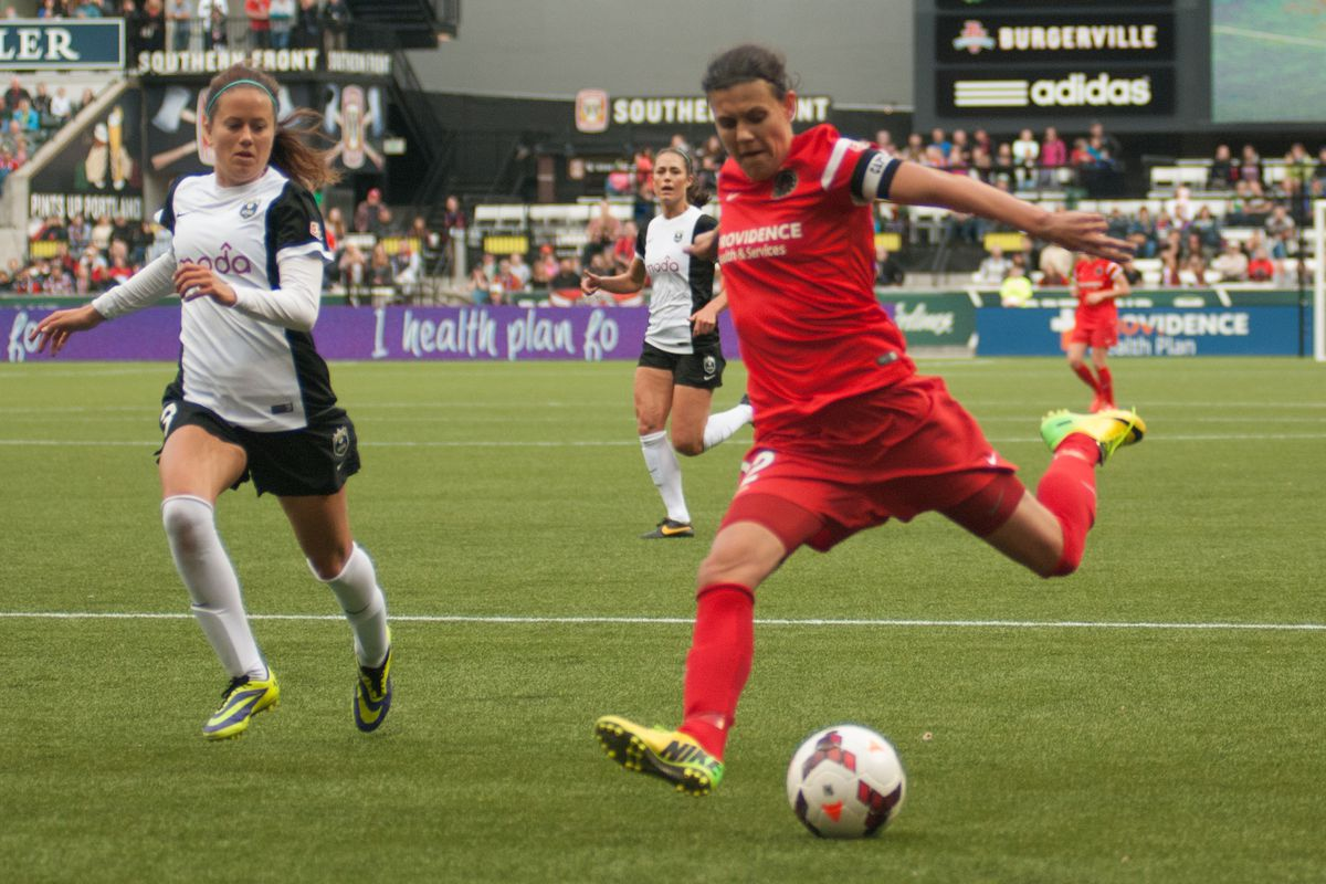 Christine Sinclair has scored 3 goals in the last 3 matches.