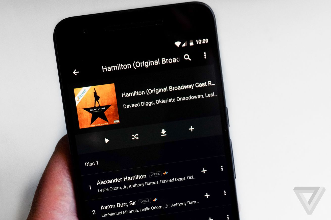 amazon music adds google cast support