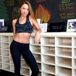 "<a href=""http://la.racked.com/archives/2014/08/13/hottest_trainer_contestant_6_erica_eynon.php""><b>Erica Eynon</b></a> of Easton Gym"