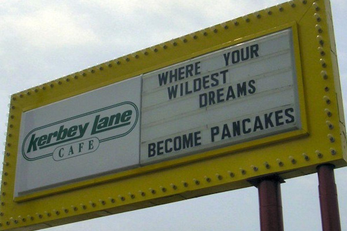 Kerbey Lane.