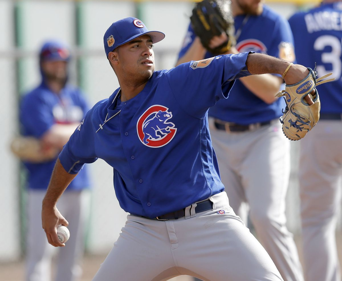 MLB: Chicago Cubs- Workouts