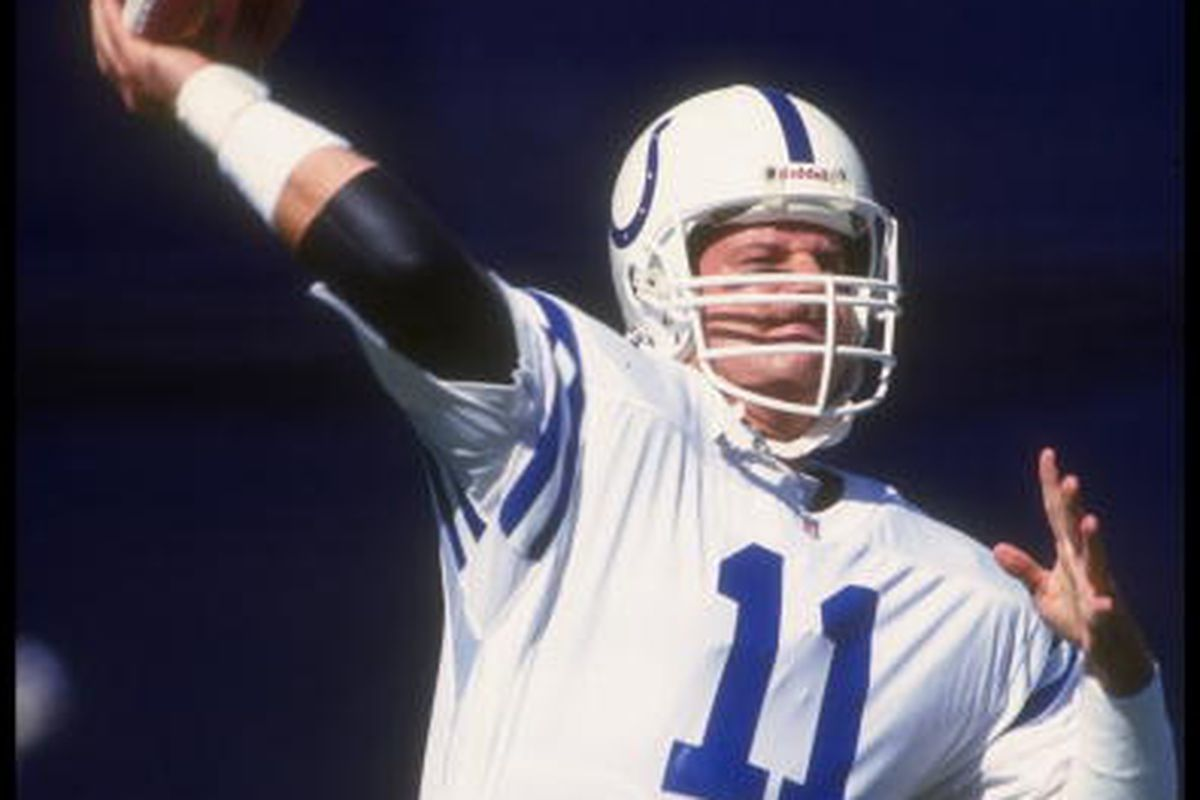 bd01c1452 Indianapolis Colts Top 10 Draft Busts And Successes In Franchise History   Jeff George