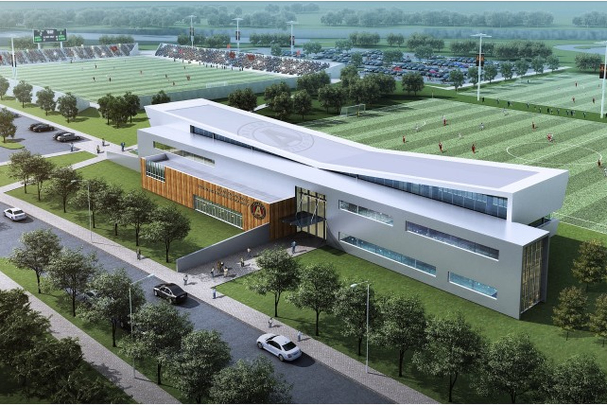 This training facility could be the certerpiece of a bigger DeKalb County development.