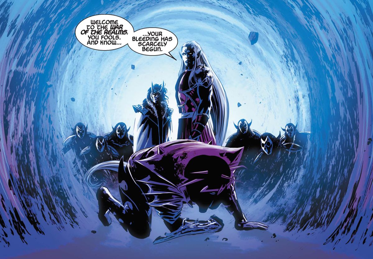 Malekith in The Mighty Thor #14, Marvel Comics (2016).