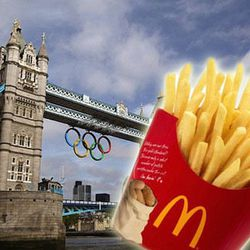 """<a href=""""http://eater.com/archives/2012/07/12/only-mcdonalds-can-serve-french-fries-at-the-olympics.php"""">Only McDonald's Can Serve French Fries at the Olympics</a>"""