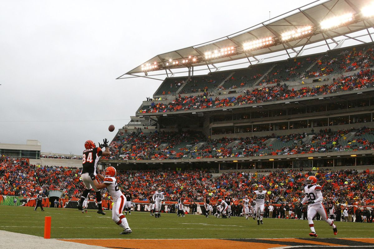 Could Ohio State's spring game be played in 2013 at Paul Brown Stadium in Cincinnati, Ohio?