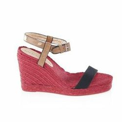 """<a href=""""http://www.marcjacobs.com/marc-by-marc-jacobs/womens/shoes/625840/canvas-and-capretto-espadrille#?p=2&s=12""""> Marc by Marc Jacobs canvas espadrille</a>, $195 marcjacobs.com"""