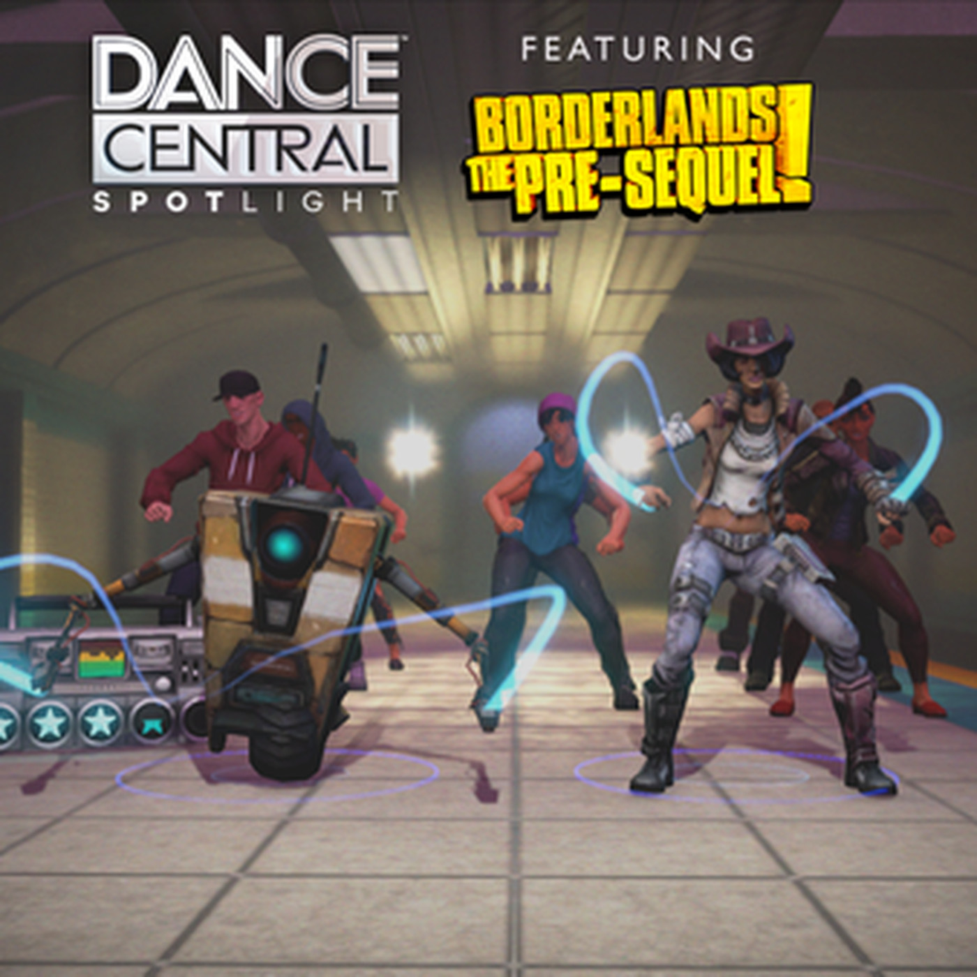 Two Borderlands characters boogie over to Dance Central