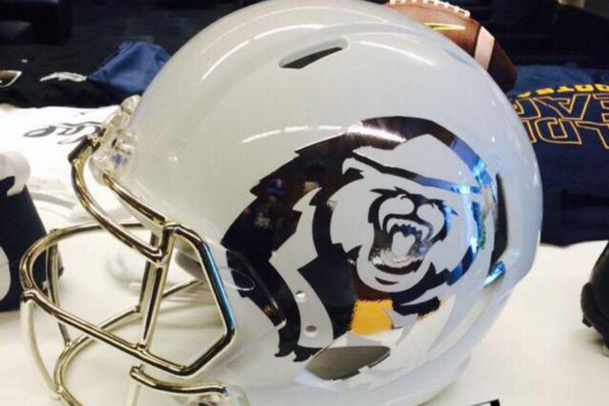 Cal football white helmets