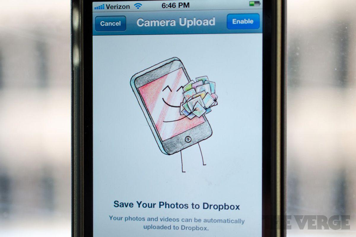 Dropbox iOS 1.5 update 2