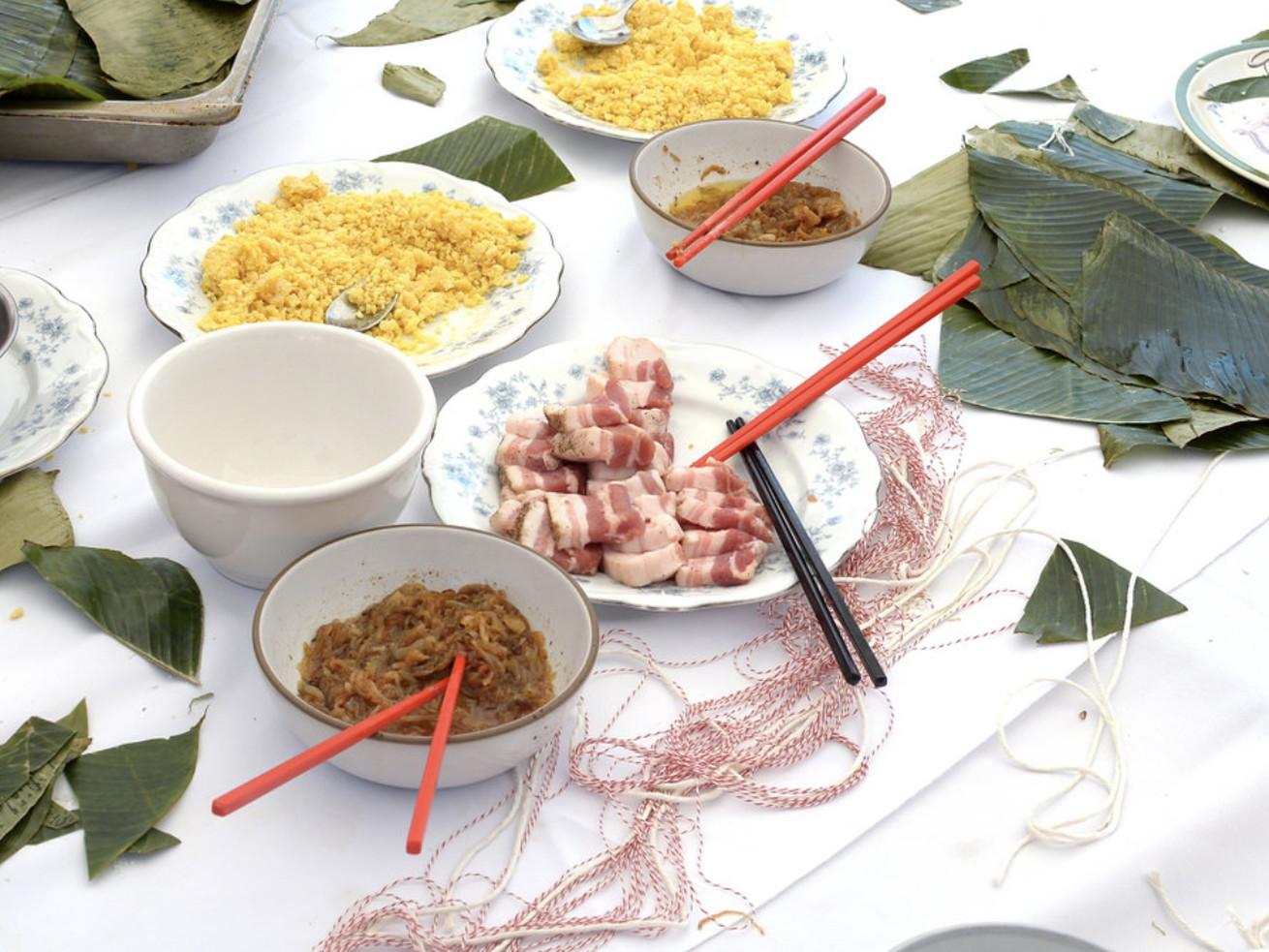 A Vietnamese dumpling workshop in Compton