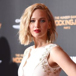 Jennifer Lawrence in Dior couture. Photo: Jason Merritt/Getty Images