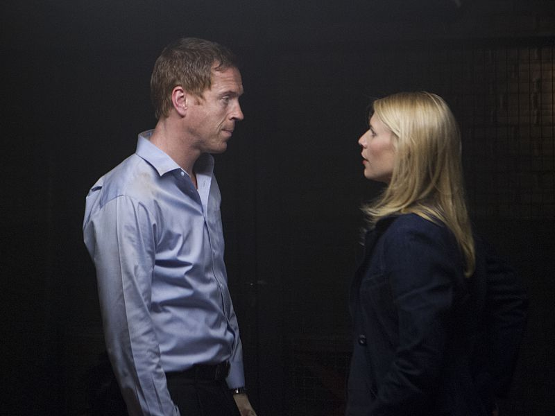 Lewis and Danes in Homeland