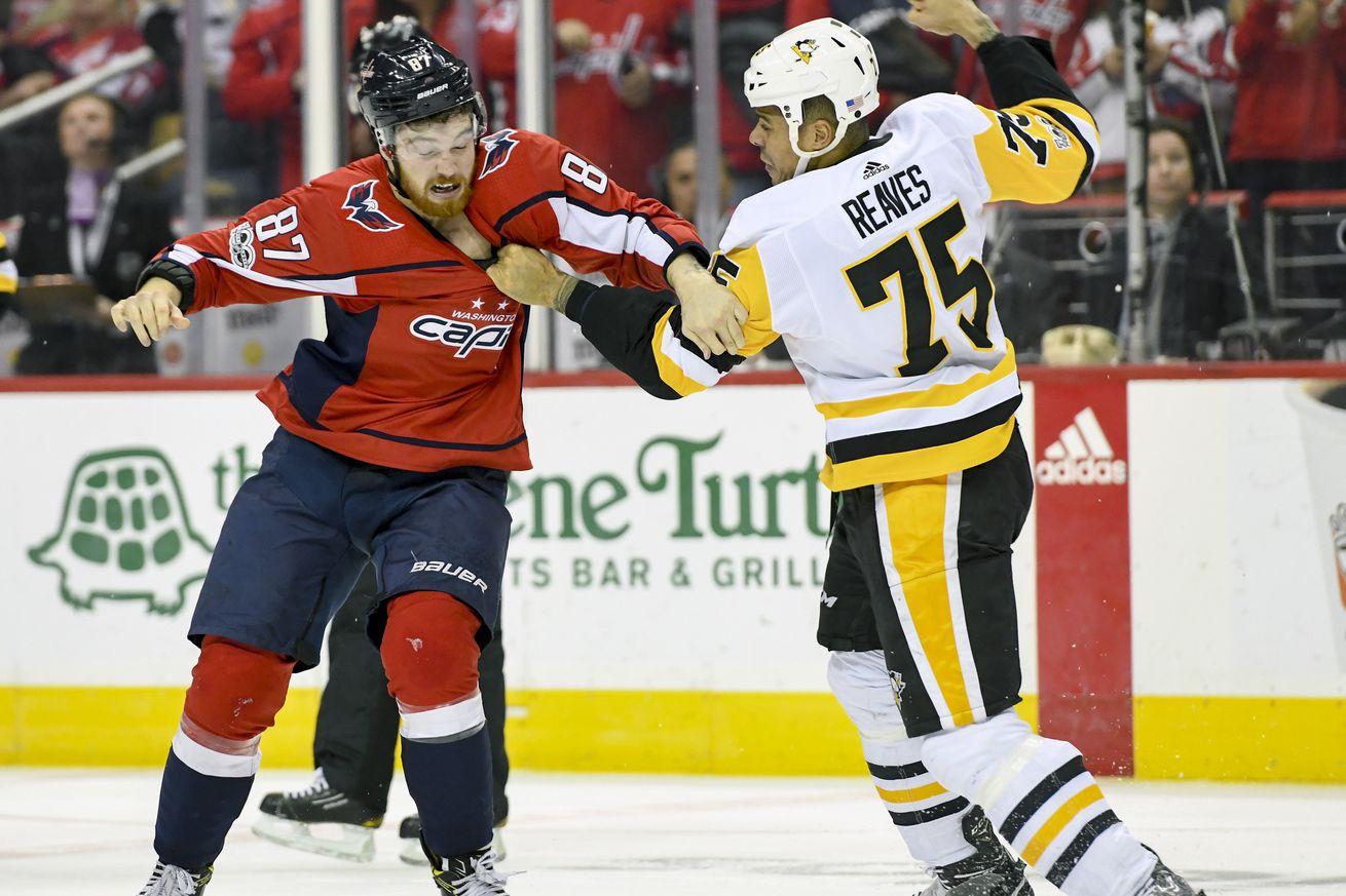 NHL: NOV 10 Penguins at Capitals