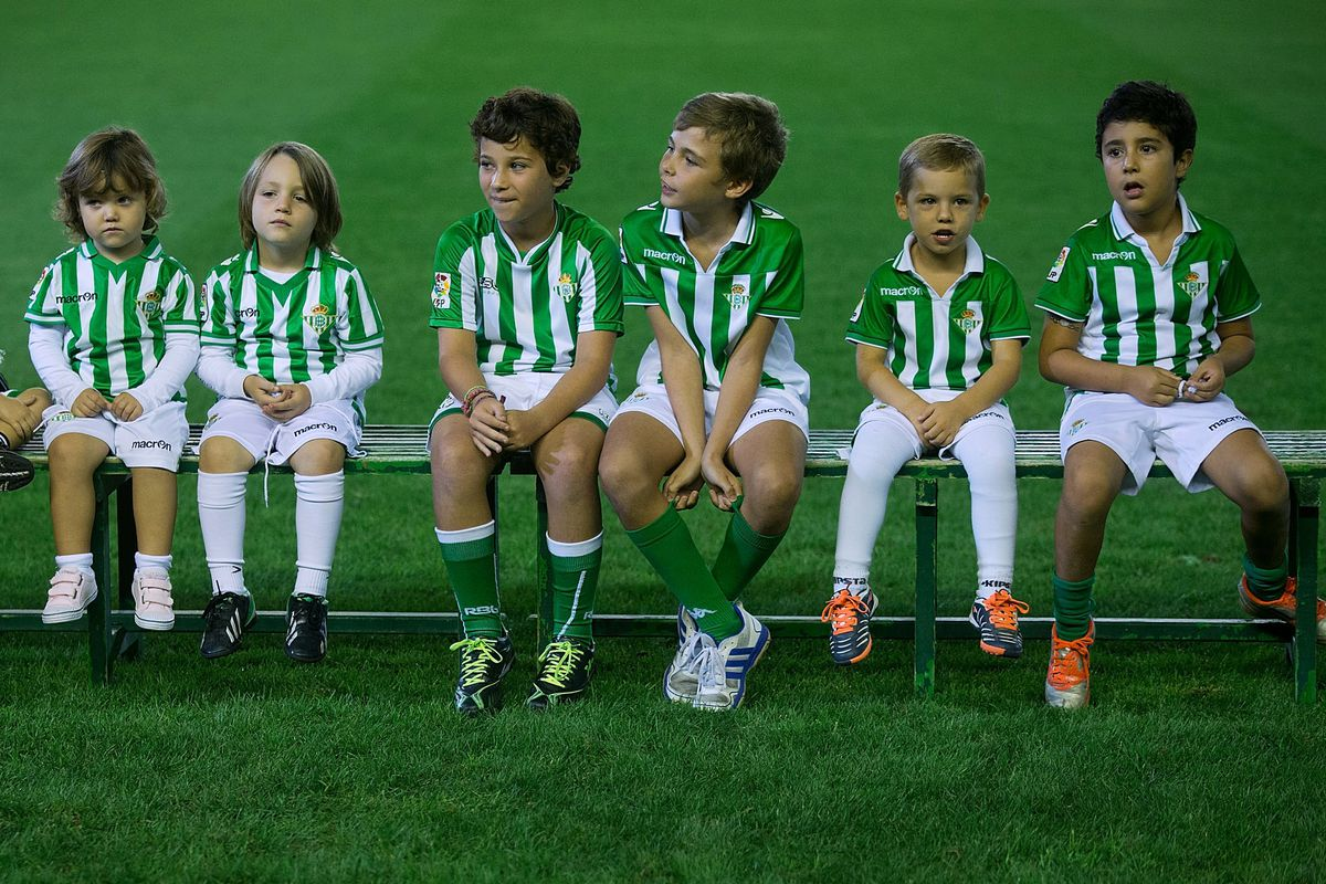Starting 'em young at Real Betis...