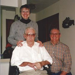 Eric Ward and Pat Hoyrup