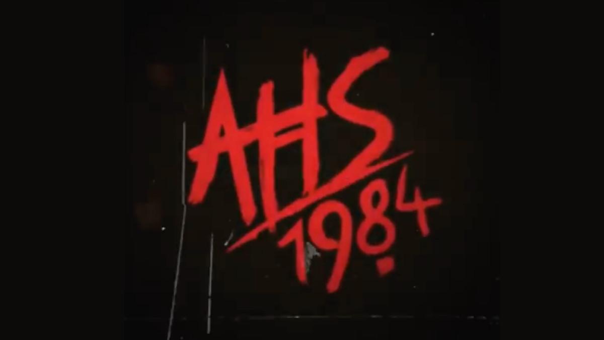 American Horror Story 1984 logo