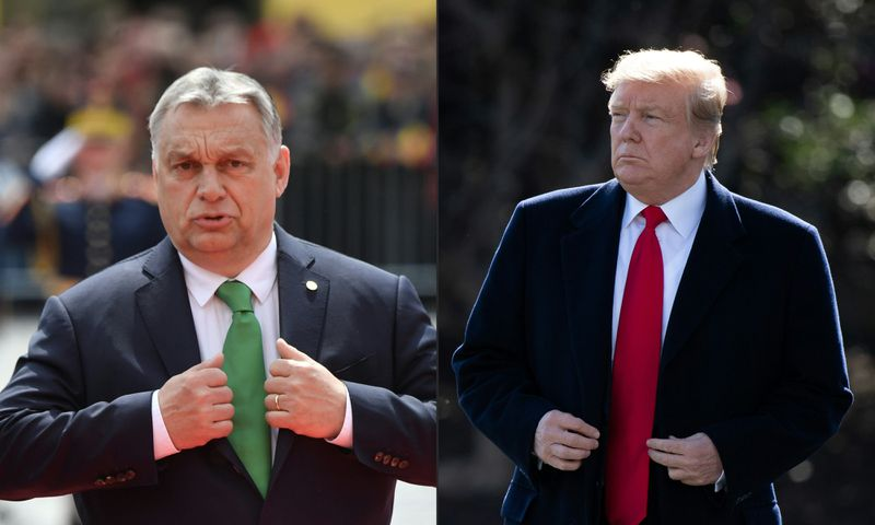 COMBO-US-Hungary-diplomacy-POLITICS-ORBAN