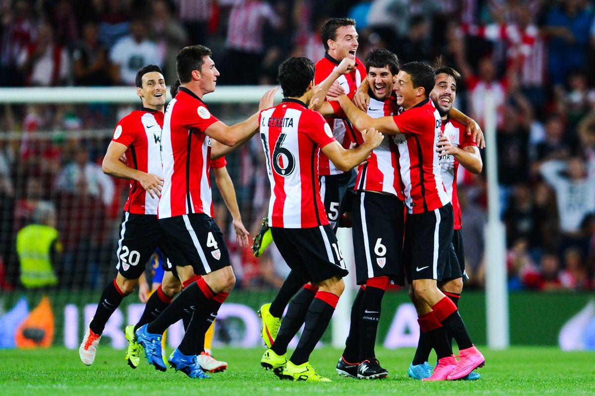 Supercopa de España: Athletic Bilbao 4-0 FC Barcelona: Match ...