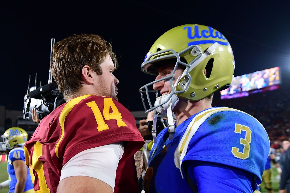 Josh Rosen And Sam Darnold Are Both Entering The Nfl Draft