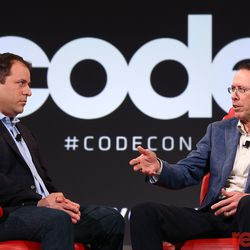 """AT&T CEO Randall Stephenson joined Peter Kafka on stage where he discussed T-Mobile and Sprint, cord cutters and Hulu, and the firing of Roseanne Barr. Watch the full video <a href=""""https://www.recode.net/2018/5/30/17397164/att-randall-stephenson-time-warner-transcript-code-2018"""">here</a>."""