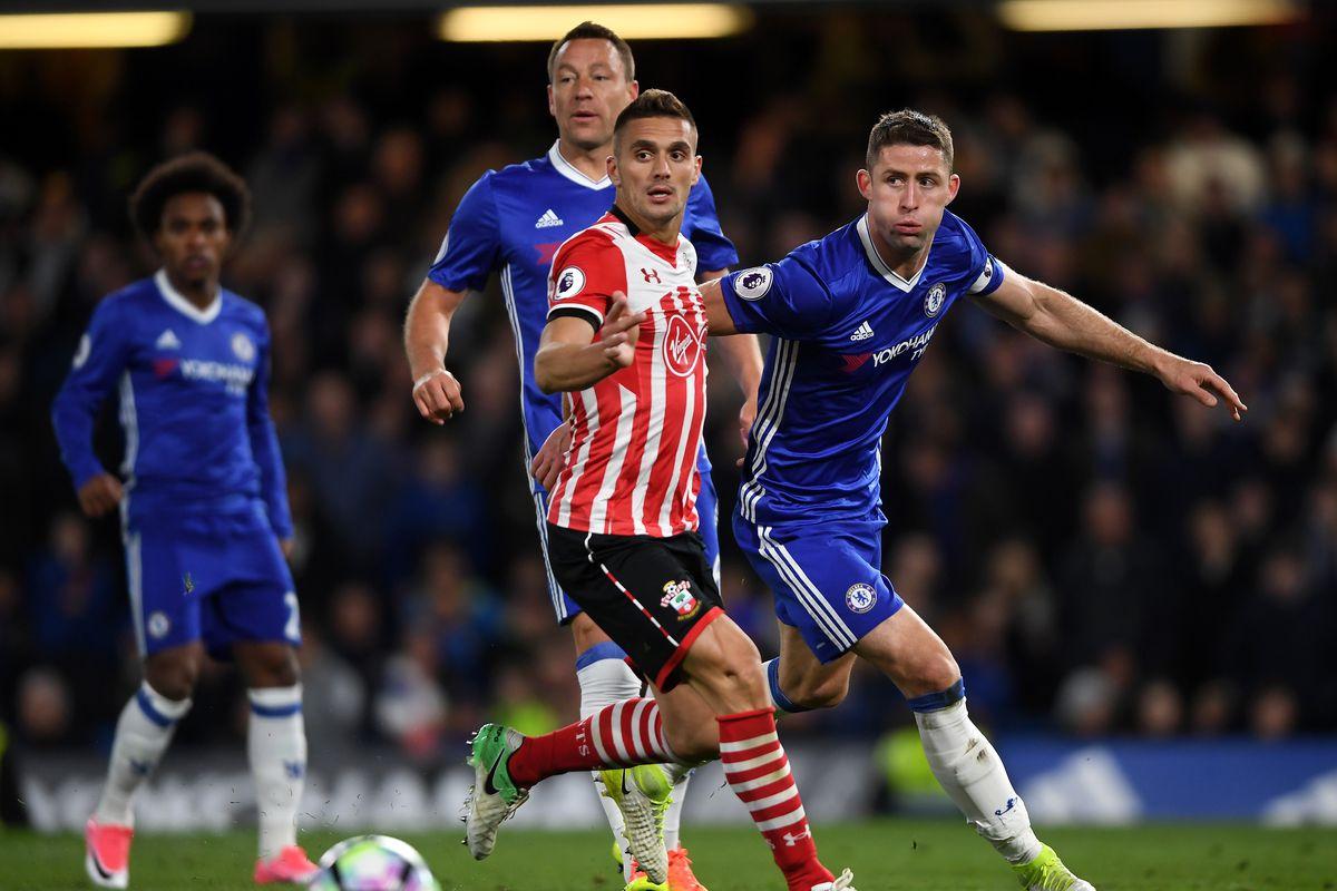 Chelsea 1 Southampton 0 - HALF