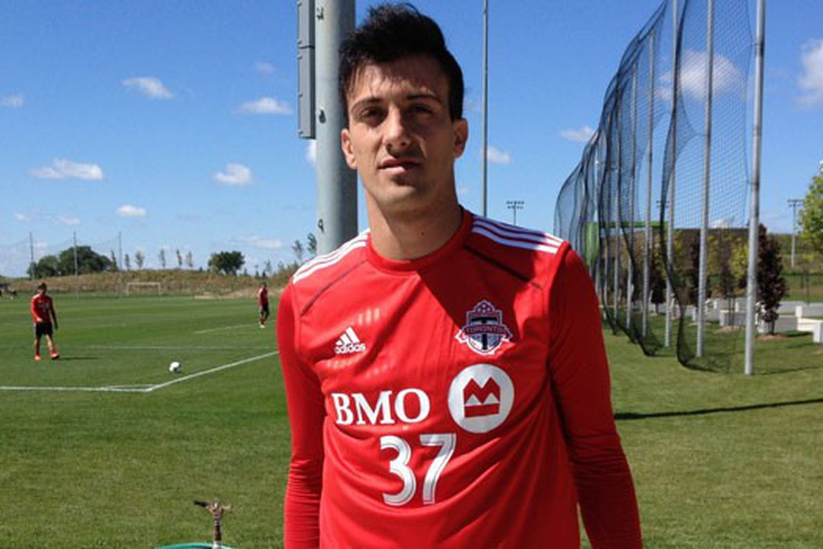 So that is what Urruti looked like in TFC colours, who knew