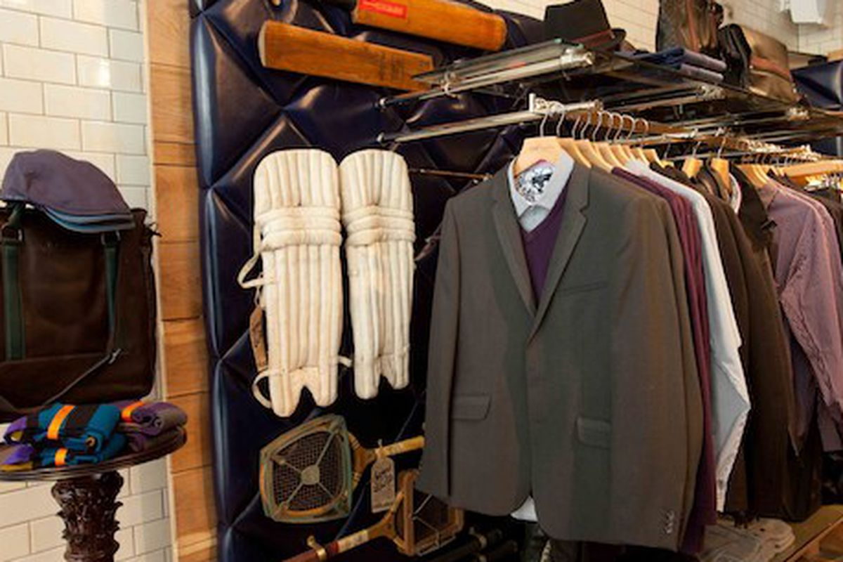 A look inside Ted Baker's just-opened New York store