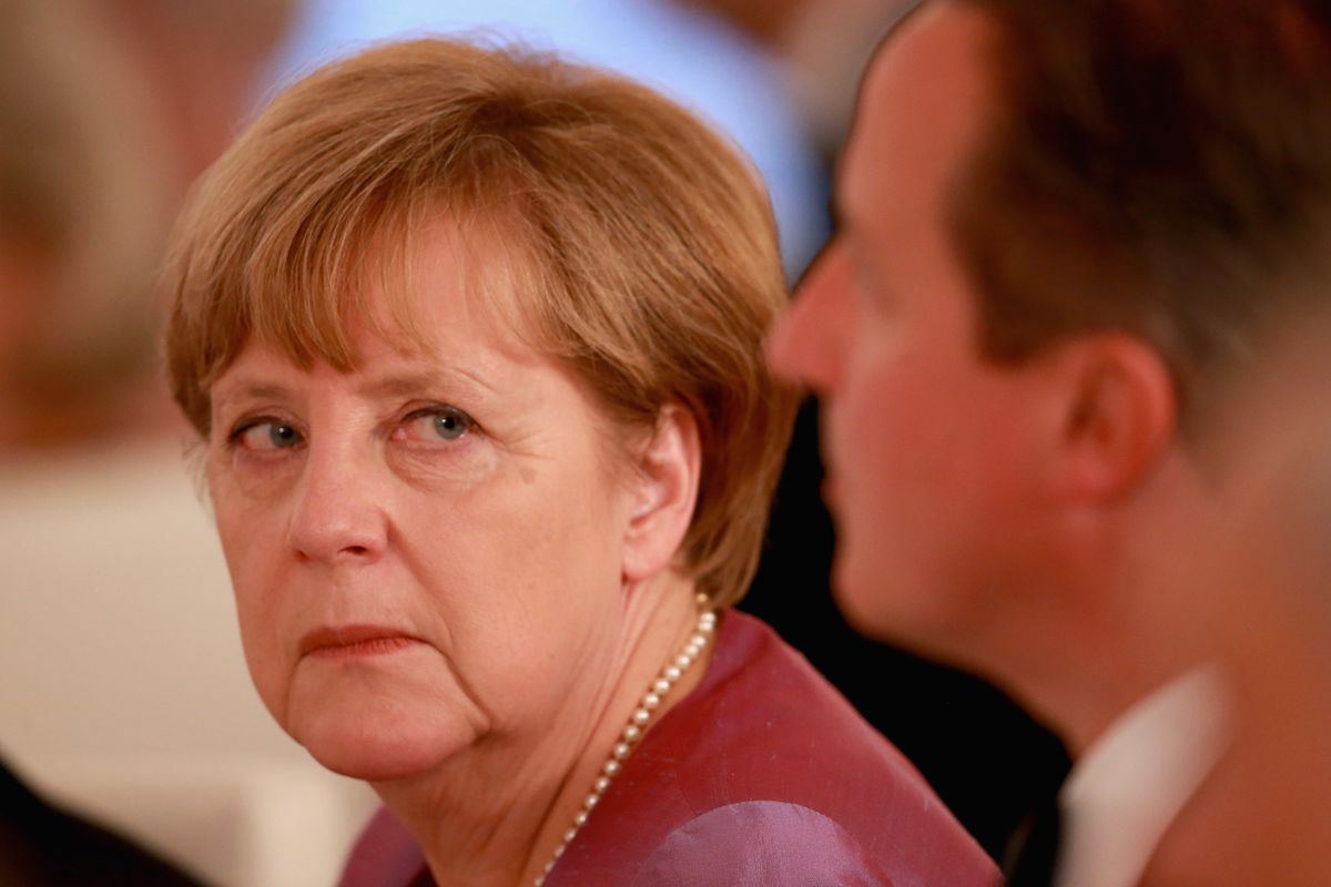 Angela Merkel is disappointed in you, Greece.