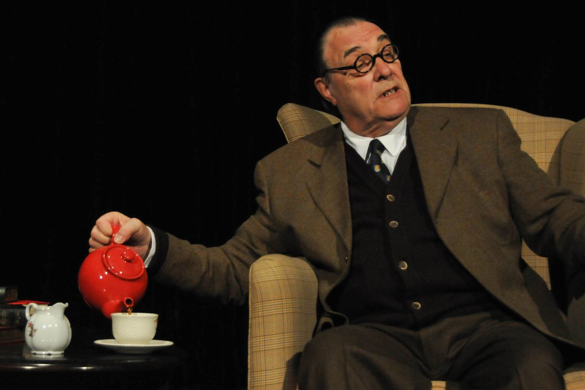 """David Payne stars in his one-man show """"An Evening with C.S. Lewis."""""""