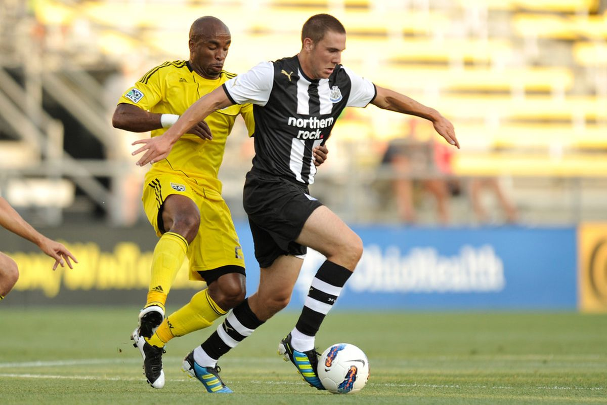 Dan Gosling, come on down!  Will you be the next starting center mid for Newcastle?