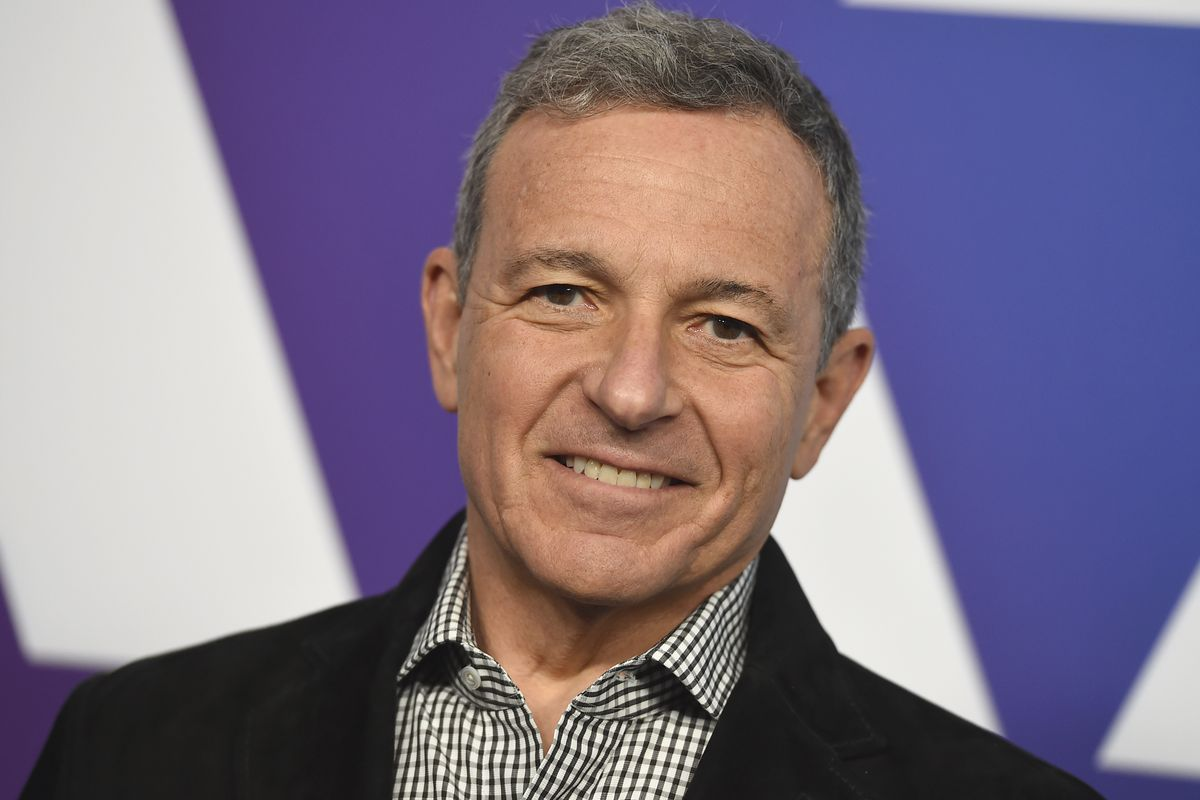 Chairman and CEO of The Walt Disney Company, Bob Iger arrives at the 91st Academy Awards Nominees Luncheon on Monday, Feb. 4, 2019, at The Beverly Hilton Hotel in Beverly Hills, Calif.