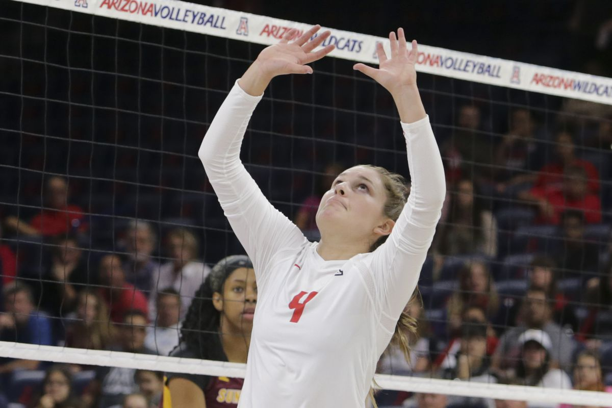 Arizona volleyball ends Bay Area trip with loss to Cal