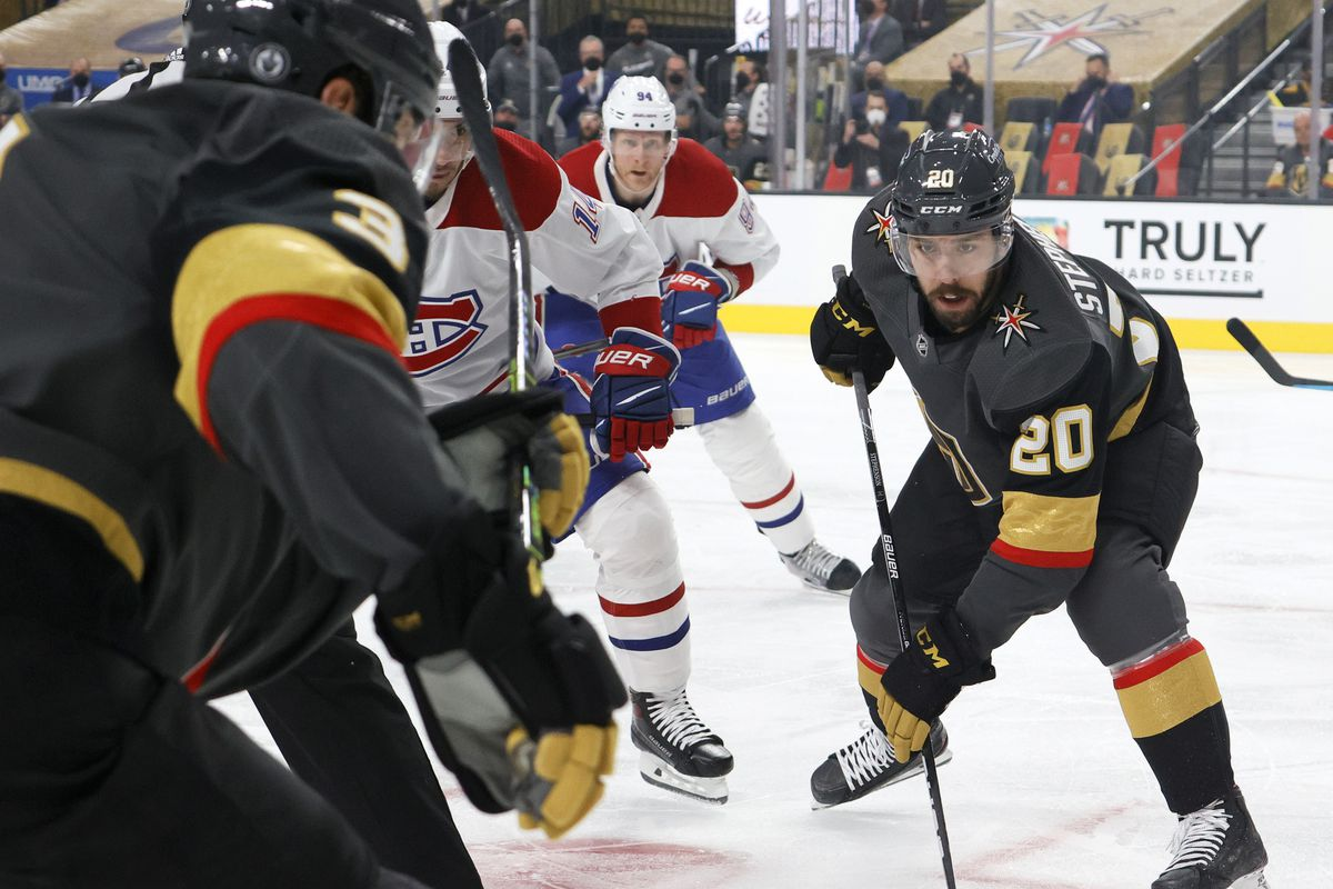 Montreal Canadiens v Vegas Golden Knights - Game One