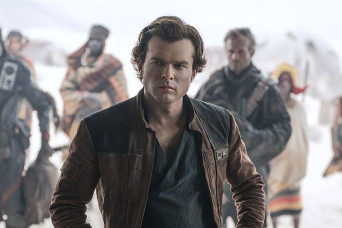 AldenEhrenreich as Han Solo