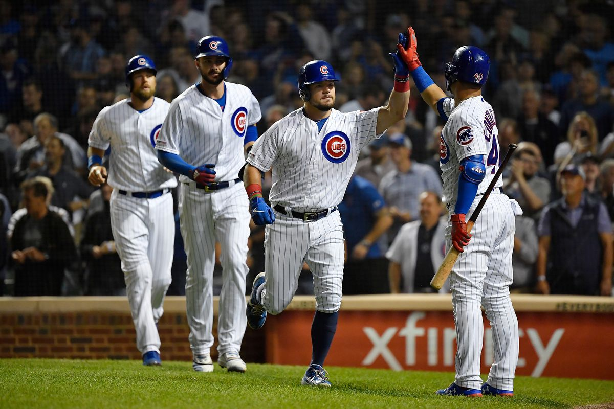 Kyle Schwarber's 3-run homer leads Cubs past Reds 8-2