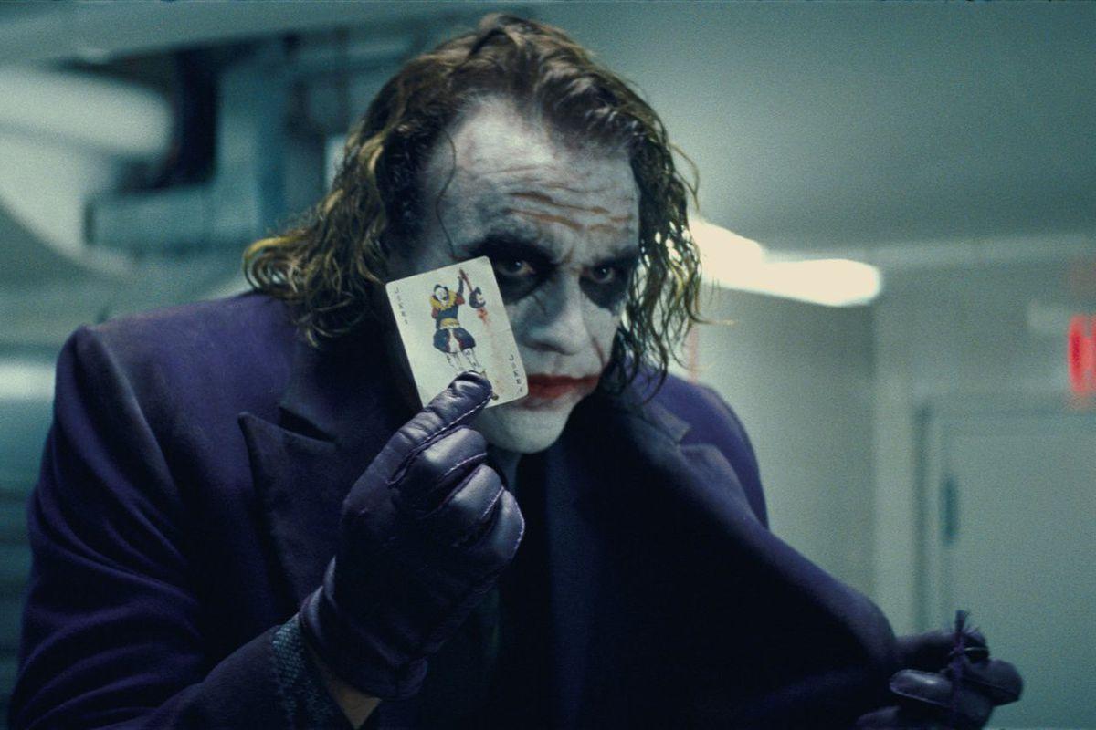 Heath Ledger in The Dark Knight (2008)