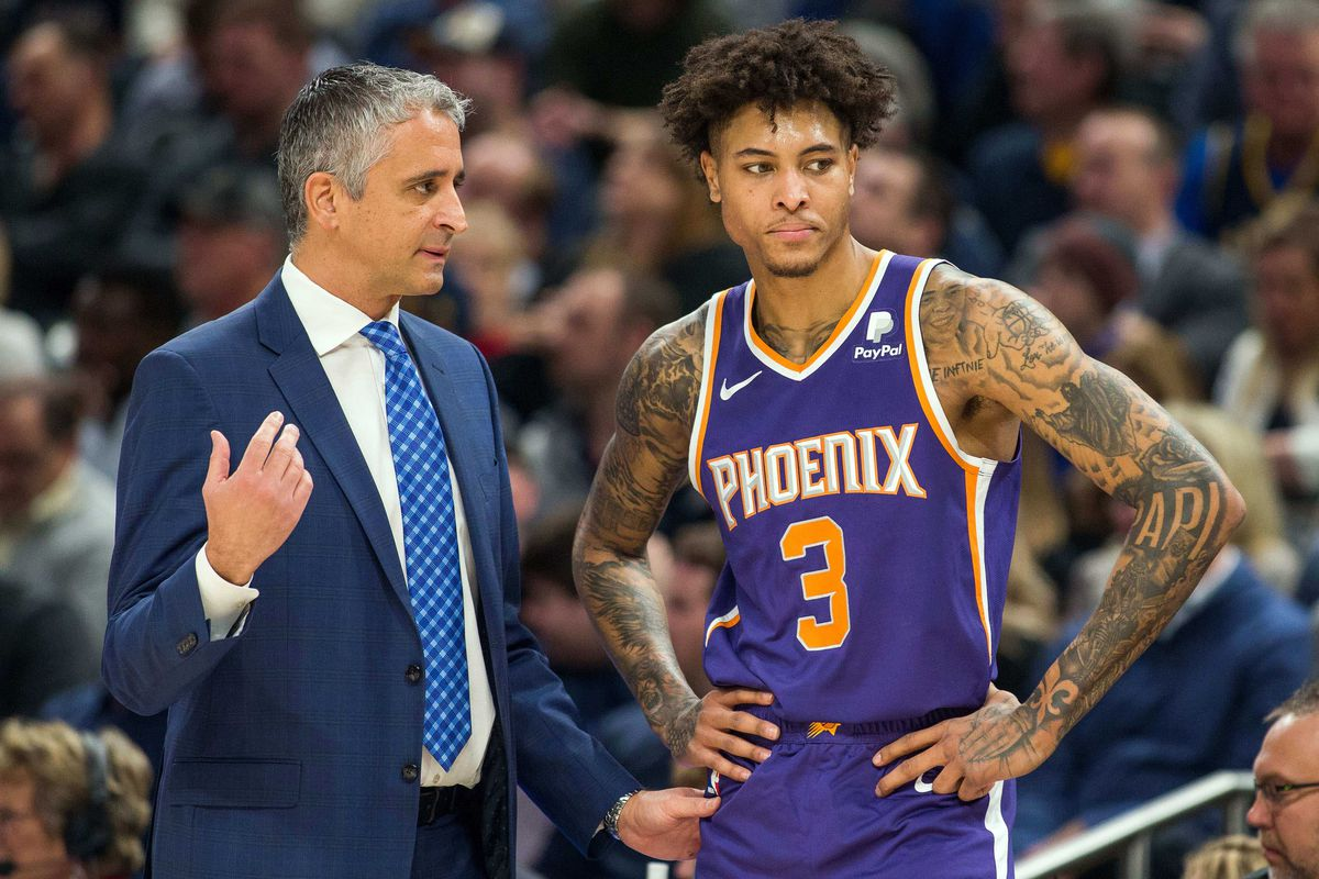 timeless design fdadd 99f8a Kelly Oubre Jr.'s emergence begs questions about Phoenix ...